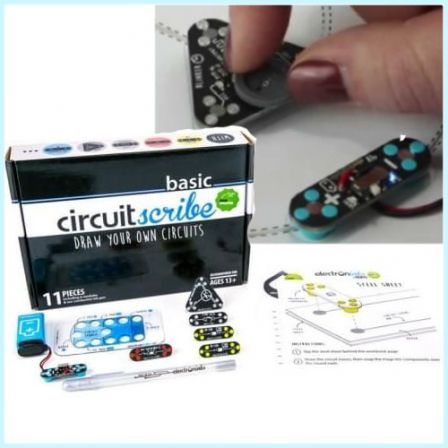 CircuitScribe Basis Kit 11-delig Zilver