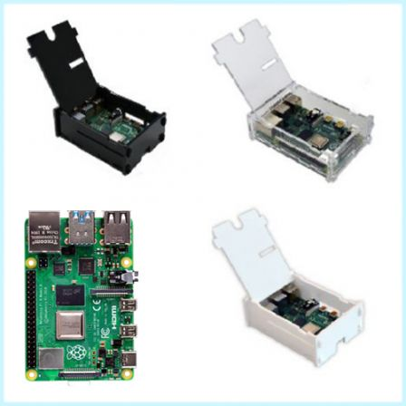 Raspberry Pi 4 Model B Combo Kit (Incl. Behuizing) 2GB / 4GB / 8GB