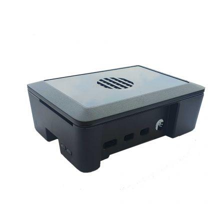 Cyntech Behuizing voor Raspberry PI 4B - Zwart