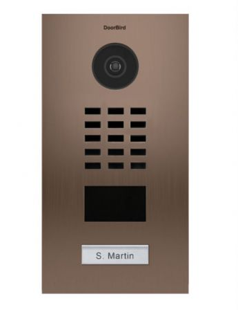 DoorBird IP Video Deur Station D2101BV