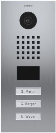 DoorBird IP Video Deur Station D2103V