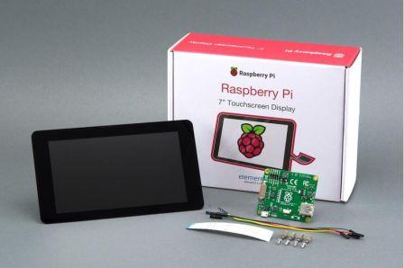 7inch Touchscreen voor de Raspberry Pi met DSI aansluiting