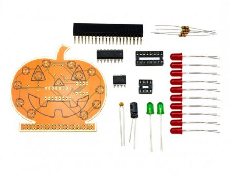 Halloween PumpkinPi Soldeer Kit