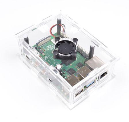 Behuizing voor Raspberry PI 4 model B met ventilator