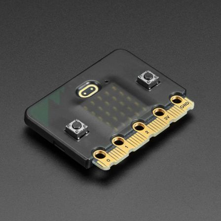 Micro:Bit Behuizing voor V2 Micro:Bit - Zwart
