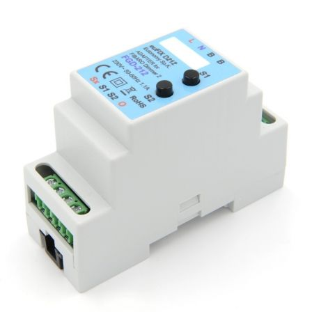 Eutonomy DIN Adapter voor FGD-212 met Knoppen