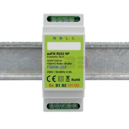 Eutonomy DIN Adapter voor FGR-222 Zonder Knoppen