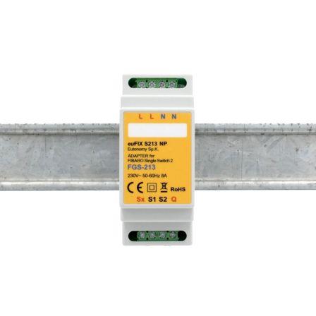 Eutonomy DIN Adapter FGS-213 zonder knoppen