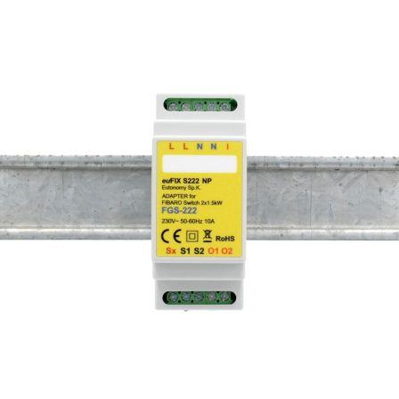 Eutonomy DIN Adapter FGS-222 zonder knoppen