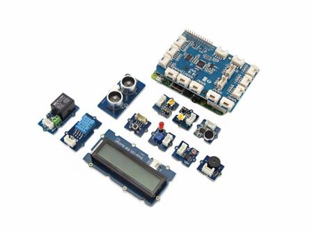 Seeed GrovePi+ Starter Kit for Raspberry Pi A+,B,B+&2,3 (CE certified)