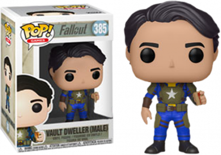 Funko Pop! Fallout Vault: Dweller (Male) EXC #385