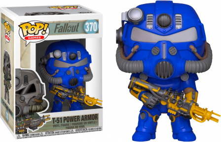 Funko Pop! Fallout: T-51 Power Armor Exc #370