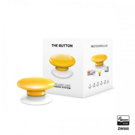 Fibaro The Button / FGPB-101-4 ZW5 - Geel