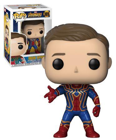 Funko Pop! Infinity War: Iron Spider Unmasked exc #305
