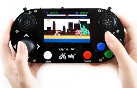 Waveshare Game HAT Voor Raspberry Pi