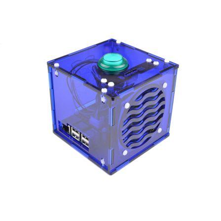 Google AIY Voice Behuizing blauw