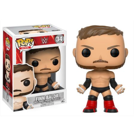 Funko Pop! WWE: Finn Balor #34 Lichte Boxschade