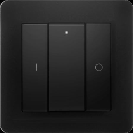 Heatit Z-Push Button 2 - Zwart