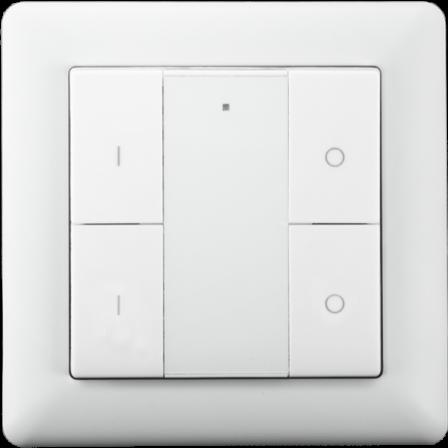 Heatit Z-Push Button 4 - Wit