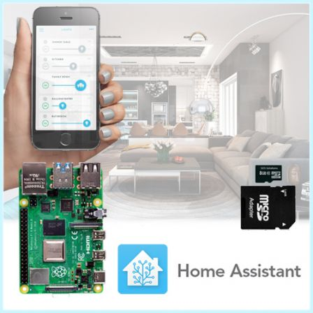 Home Assistant Plug-And-Play Kit met Raspberry PI 4B