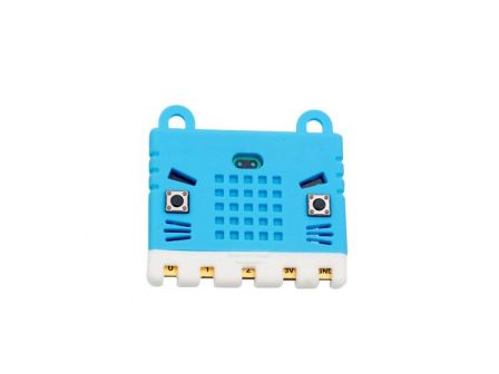 KittenBot Micro:Bit Silicone Hoes - Blauw