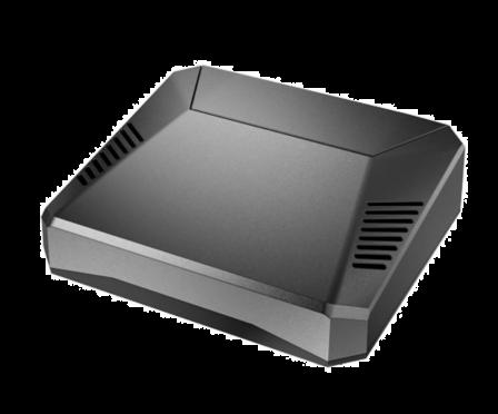 Aluminium Argon1 V2 Behuizing voor Raspberry Pi 4B - Zwart