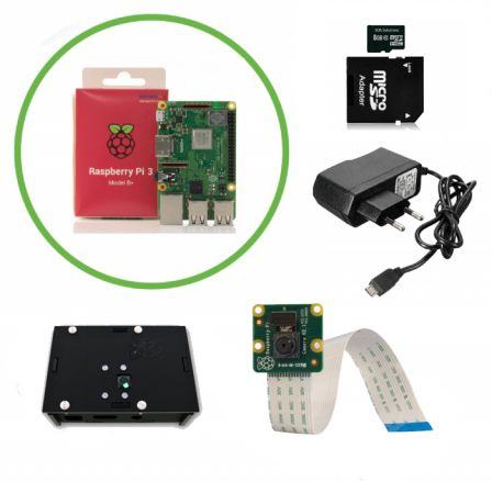 IP Camera Kit met Raspberry PI 3B+