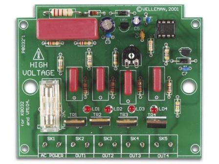 Velleman 4-Kanaals looplicht K8032