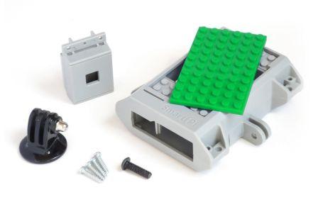 SmartiPi LEGO Behuizing + Camera behuizing + GoPro Mount Groen