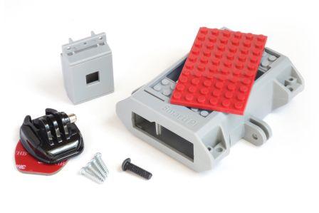 SmartiPi LEGO Behuizing + Camera behuizing + GoPro Mount Rood