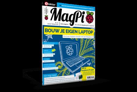 MagPi #6 Nederlands Januari/Februari 2019