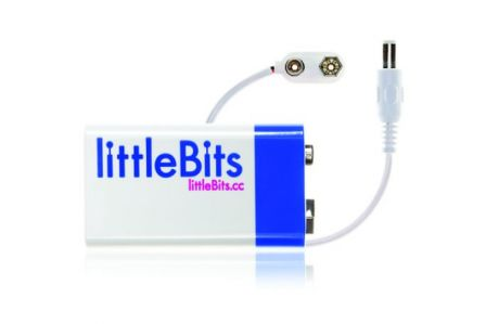 Littlebits  9v Battery + Cable a1