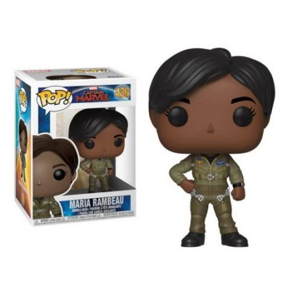 Funko Pop! Captain Marvel: Maria Rambeau #430