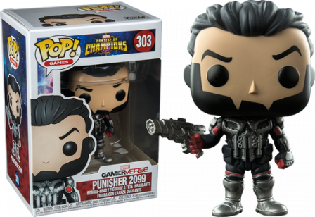 Funko Pop! Marvel Contest of Champions: The Punisher 2099 #303