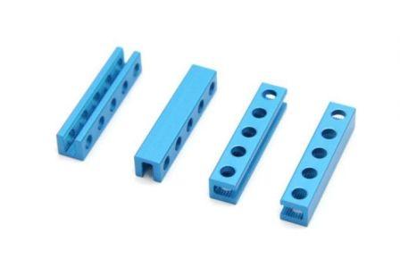 Beam 0808-040 B - Blauw - 4 stuks