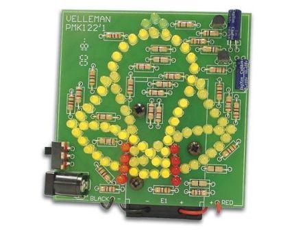 Velleman Geanimeerde klok met 83 LEDs MK122
