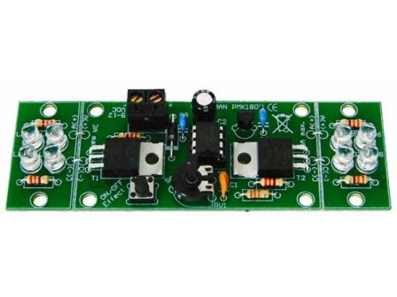 Whadda 2-Kanaals Hi-Power Ledflitser WSL180
