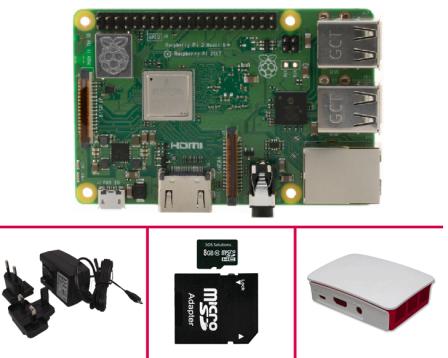 Officiële Raspberry Pi 3B+ HCC Starter Kit