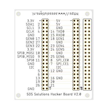 SOS Solutions Hacker Board V2.0