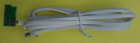 DSMR P1 kabel (Slimme meter) - Type 2 voor RFXtrx433XL RFXCOM