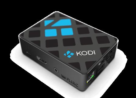 Officiële KODI behuizing voor de Raspberry PI 3B+