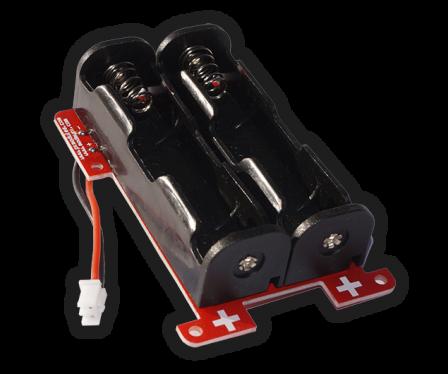 PIco Double Li-Ion 18650 Battery Holder