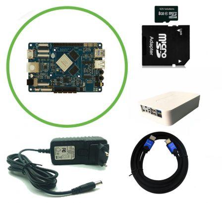 Pine64 Rock64 Pro 4K Kodi Player