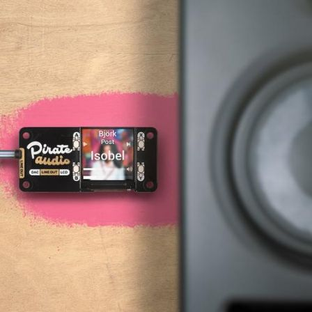 Pimoroni Pirate Audio: Line-out voor Raspberry Pi