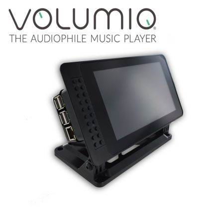 Premium Touchscreen Volumio Audio Player 24bit/192khz 2 x RCA uitgang