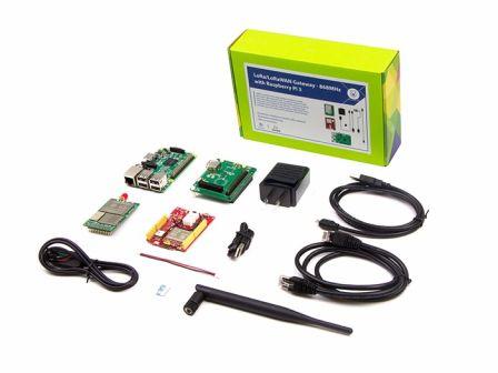 Seeed LoRa LoRaWAN Gateway - 868MHz Kit with Raspberry Pi 3