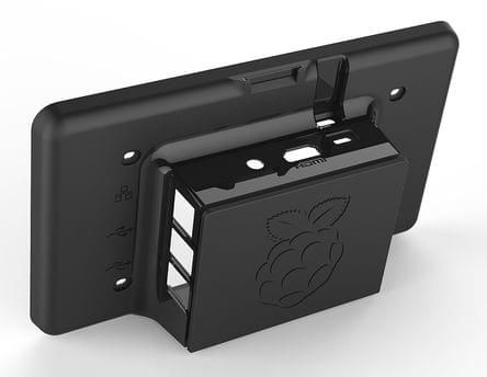 7 inch behuizing tbv touchscreen kleur Zwart