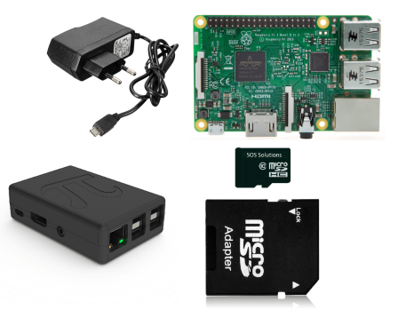 Raspberry Pi 3 B Starter Kit