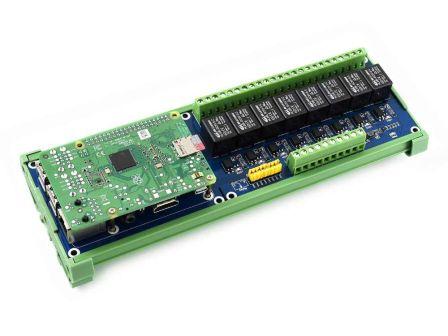 Waveshare 8x Relais board voor Raspberry Pi