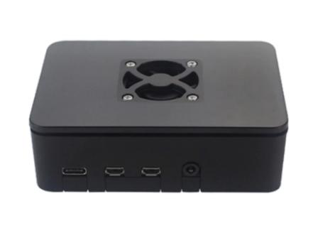 Raspberry Pi 4B Behuizing ABS - Zwart